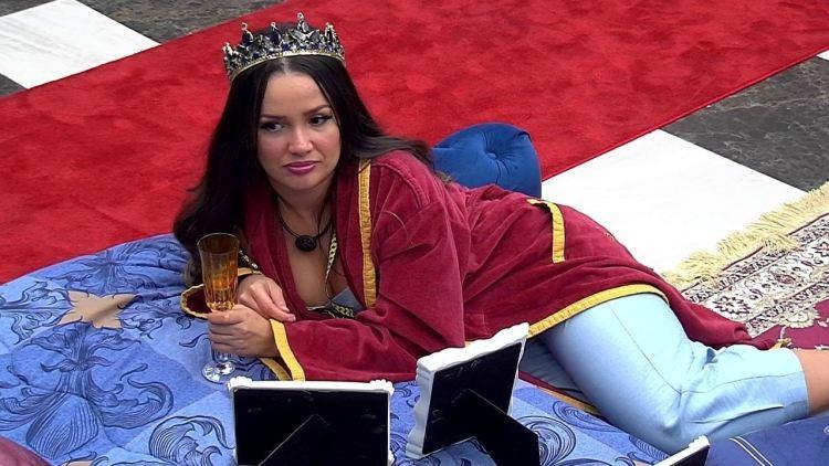 BBB21: Juliette é questionada por Camilla sobre quem pegaria do reality (Foto: Reprodução)