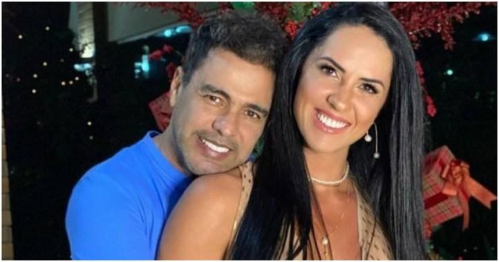 Zezé Di Camargo em entrevista faz declaração para esposa, Graciele Lacerda