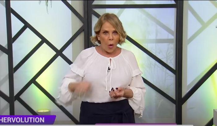 Claudete Troiano na RedeTV (Foto: Reprodução)