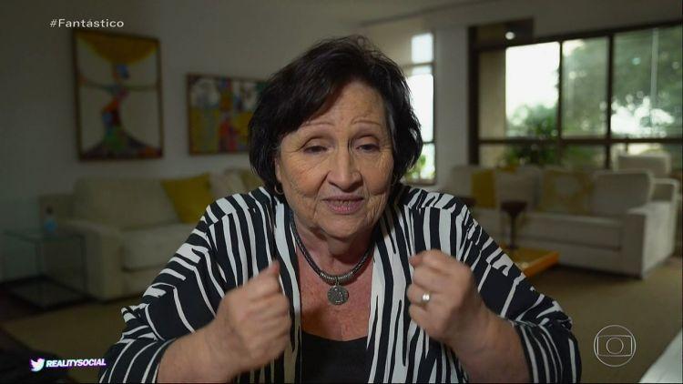 Dona Déa Lúcia, mãe de Paulo Gustavo (Foto: Reprodução)
