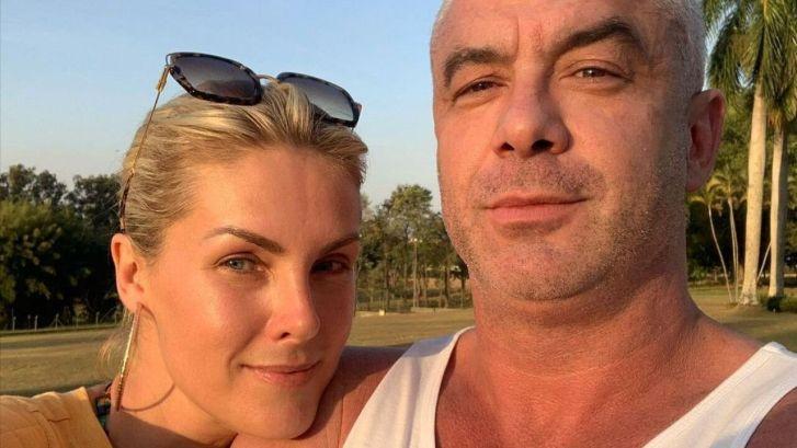A apresentadora Ana Hickmann e o marido Alexandre Correa (Foto: Reprodução)