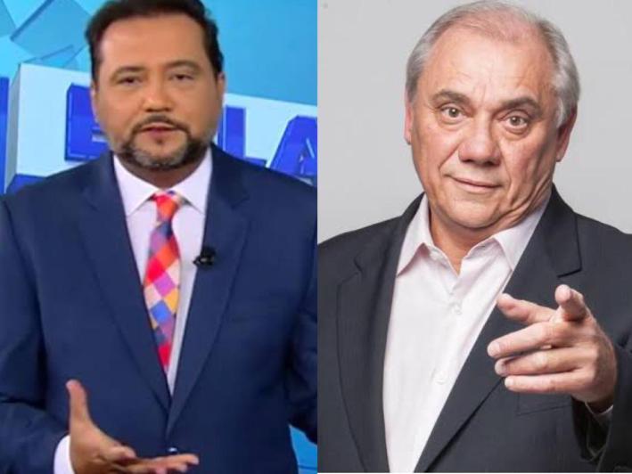 Geraldo Luís e Marcelo Rezende (Foto: Reprodução)