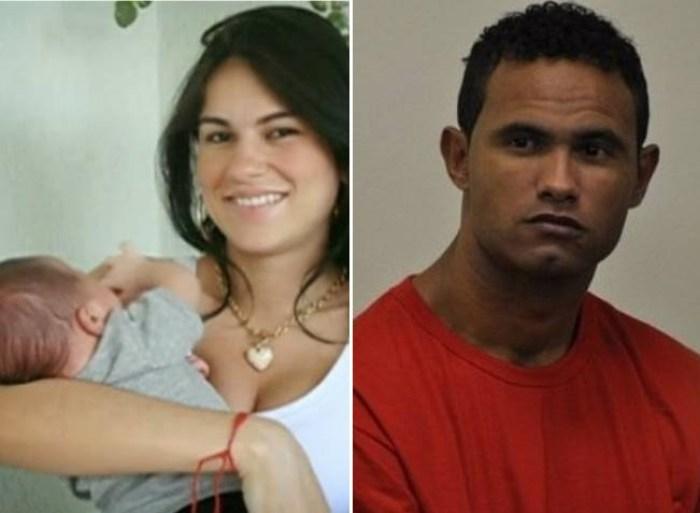 Goleiro Bruno sumiu com o corpo de Eliza Samúdio (Foto: Reprodução)
