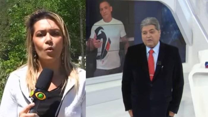 Repórter do Brasil Urgente, Letícia Gil, teve companheiro assassinado em assalto (Foto: Reprodução)