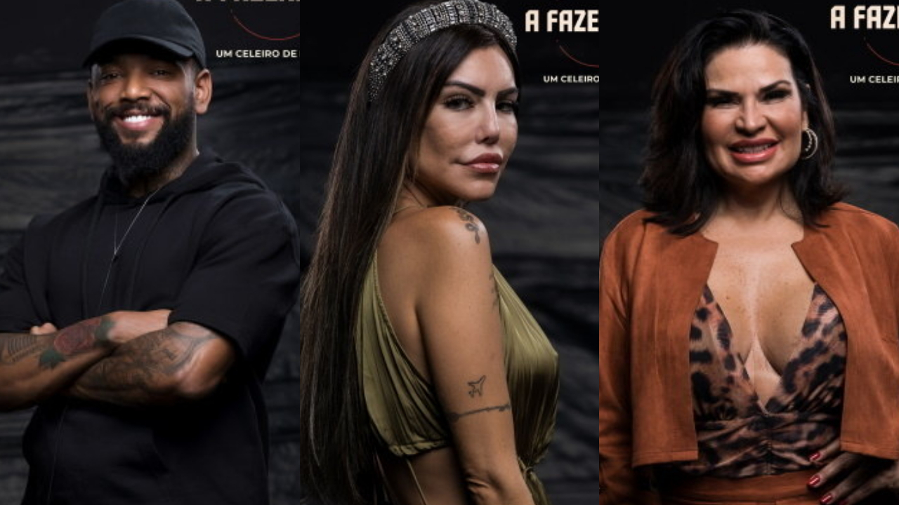 Enquete A Fazenda 13: Nego do Borel, Liziane e Solange Gomes. Quem deve ficar? (Foto: Divulgação)