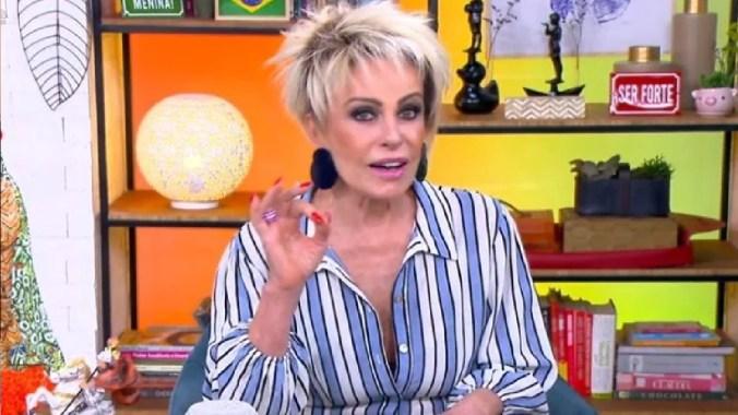 A apresentadora da Globo, Ana Maria Braga (Foto: Reprodução)