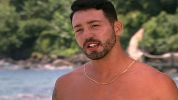 O integrante do reality da Record, A Fazenda, Rico Melquiades (Foto: Reprodução)