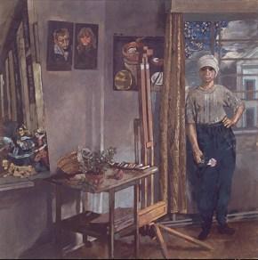 Ατελιέ, λάδι σε καμβά, 122x122 cm, 1979