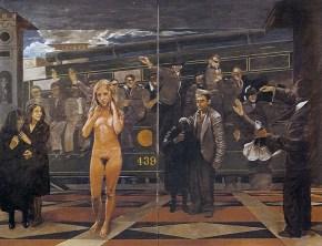 Ιφιγένεια, λάδι σε καμβά, 150x200 cm, 1979