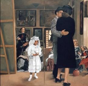 Λας Μενίνας, λάδι σε καμβά, 200x200, 1976