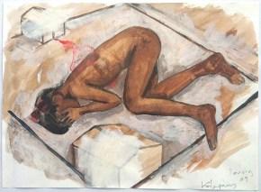 Πατρίς ΙΙ, ακουαρέλα, 20x30 cm, 2011, Patris ΙI, aquarelle, 20x30 cm, 2011