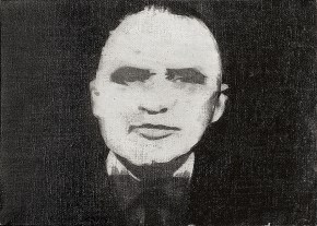 Πομπιντού, λάδι σε καμβά, 40x60 cm, 1968