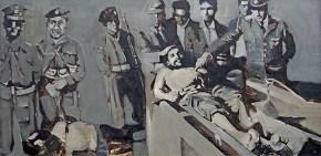 Τσε, λάδι σε καμβά, 45x80 cm, 1968