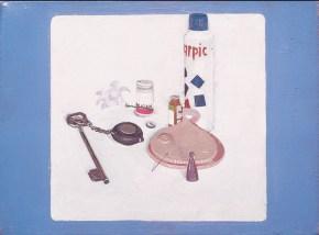 Χάρπικ, λάδι σε καμβά, 40x60 cm, 1969