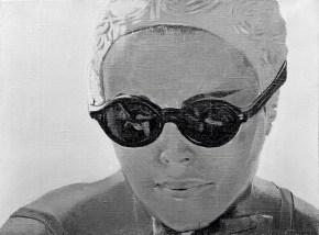 PH, λάδι σε καμβά, 40x60 cm, 1968