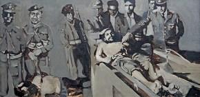 Che, oil on canvas, 45x80 cm, 1968