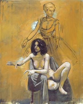 Despina Degas, oil on canvas, 120x100 cm, 2002