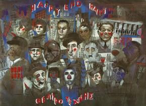 Happy End, poster, Art Theatre Karolos Koun, 1998