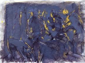 Ippokratio Hospital, oil on canvas, 150x190 cm, 1990
