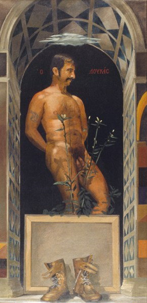 Lucas, oil on canvas, 151x76 cm, 1978