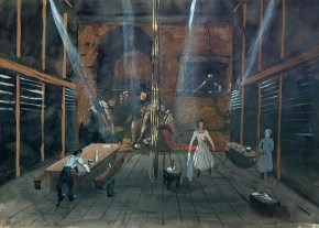 Miss Julia IV, 30x40 cm, Art Theatre Karolos Koun, 1998