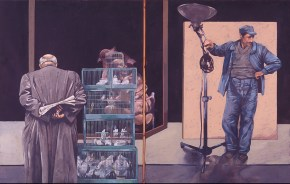 Opening, oil on canvas, 115x180 cm, 1978
