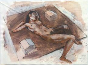 Patris I, aquarelle, 20x30 cm, 2011