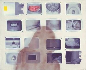 Polaroid, acrylic on canvas, 120x150 cm, 1972