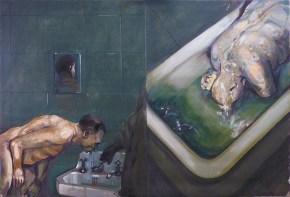 Prison I, oil on canvas, 120x180 cm, 2010