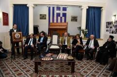 Mε την Ελληνική Κοινότητα των Ιεροσολύμων (26-11-2015)