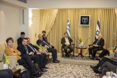 Ο Πρωθυπουργός, Αλ. Τσίπρας, συναντήθηκε με τον Πρόεδρο του Ισραήλ, Ρόιβεν Ρίβλιν (26-11-2015)