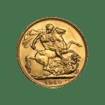 half gold sovereign