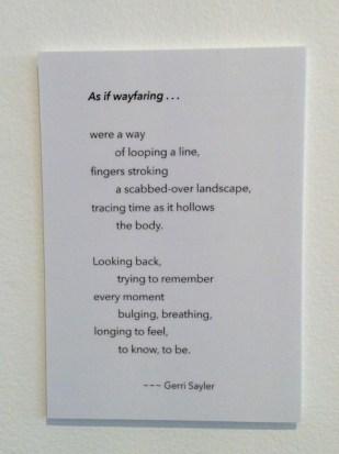 As If Wayfaring