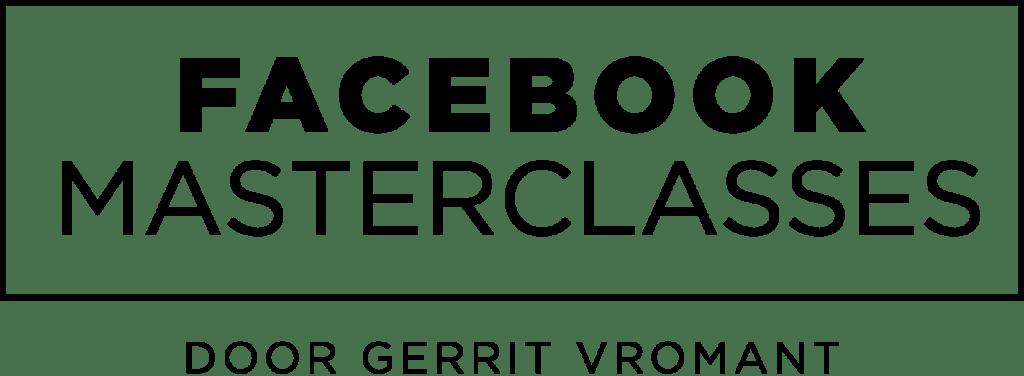 Facebook Masterclasses door Gerrit Vromant