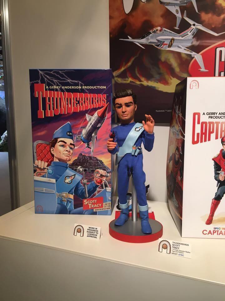 Big Chief Studios Thunderbirds Scott Tracy and his box
