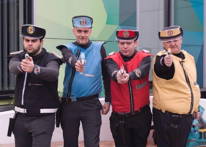 Spectrum cosplayers
