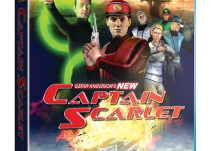 New Captain Scarlet Blu-ray cover