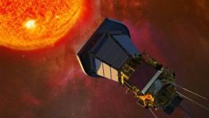 Artist Impression of Solar Probe Parker