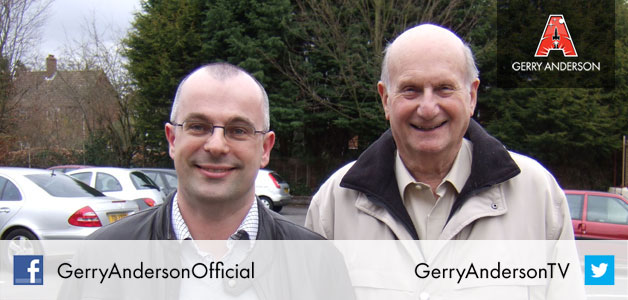 Designing the new Gerry Anderson logo