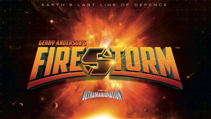 Gerry Anderson's Firestorm logo