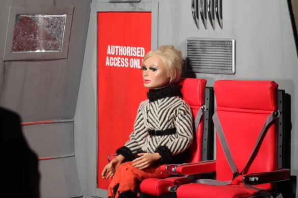 Thunderbirds 1965 Lady Penelope in the Ski Copter