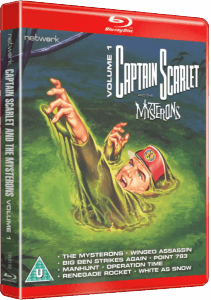 Classic Captain Scarlet blu-ray