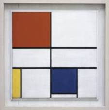 Piet Mondrian - Composition C (No.III) with Red, Yellow and Blue 1935
