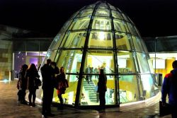 LightNight at the new library