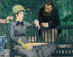 Edouard Manet, In the Conservatory, 1878