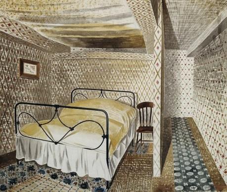 A Farmhouse Bedroom, 1930s