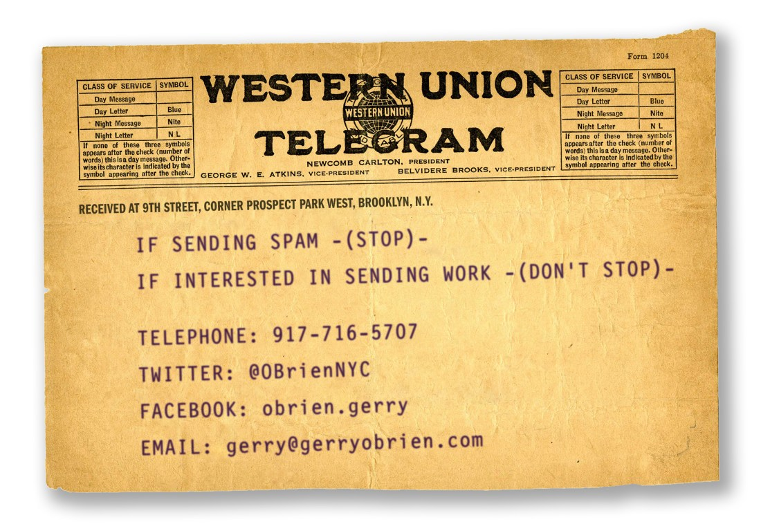 O'Brien Contact Telegram