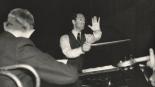 George conducting.