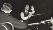 George conducting.