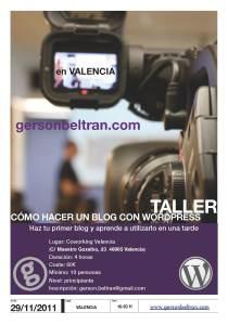 Poster taller WP Valencia gersonbeltran